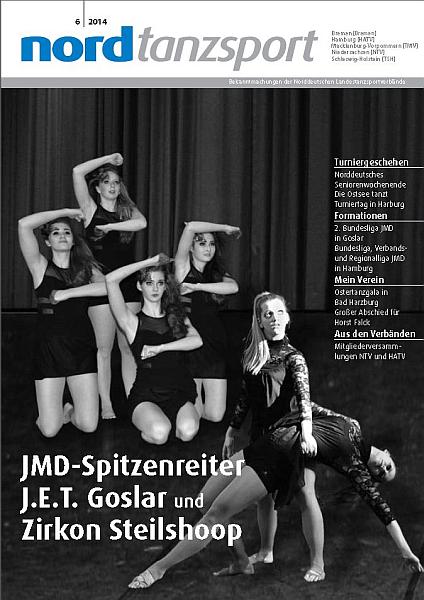 Titelblatt Nordtanzsport 6/2014